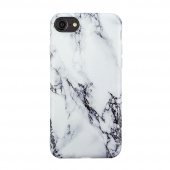 Чехол силиконовый для iPhone 6 Plus/6s Plus Marble Mountain White