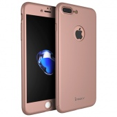Чехол для iPhone 7 Plus iPaky 360 Rose Gold