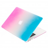 Чехол Upex Rainbow для Macbook Air 11.6 Pink-Light Blue
