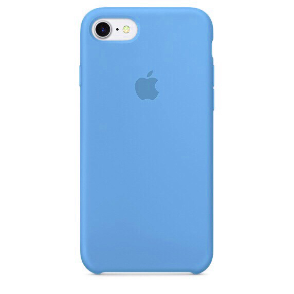 Чехол Apple Silicone case (copy) для iPhone 5/5s/SE Blue