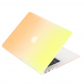 Чехол Upex Rainbow для Macbook Air 13.3 Yellow-Orange