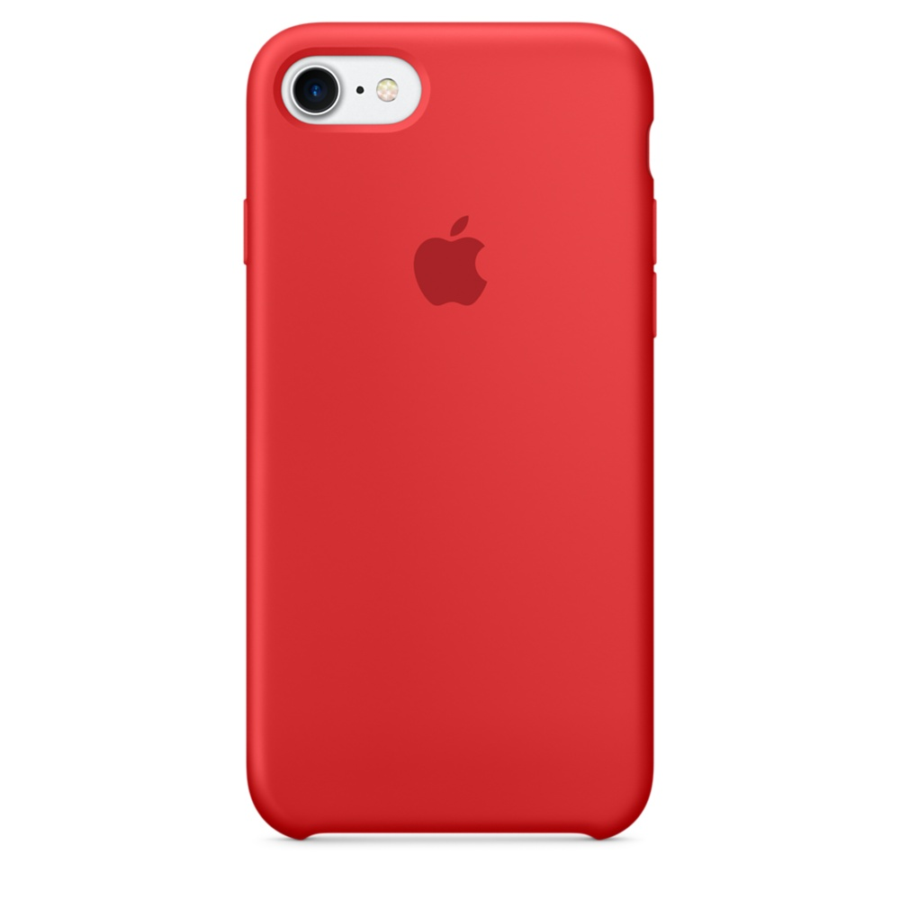 Чехол Apple Silicone case (copy) для iPhone 5/5s/SE Product RED
