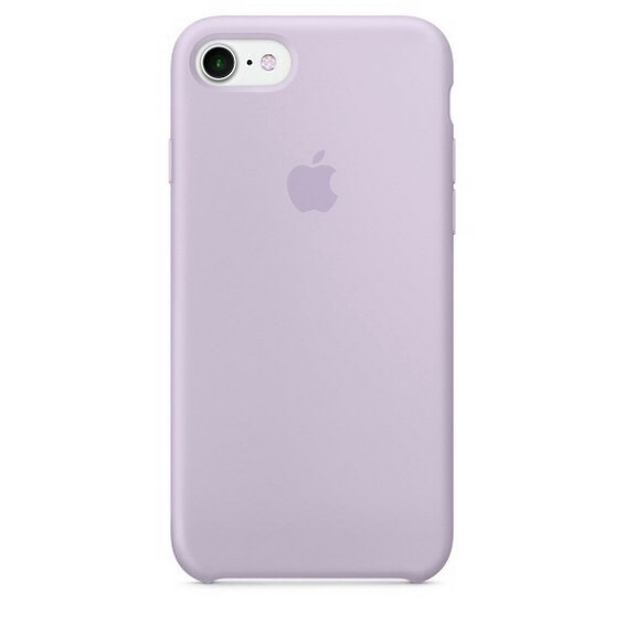 Чехол Apple Silicone case (copy) для iPhone 5/5s/SE Lavender