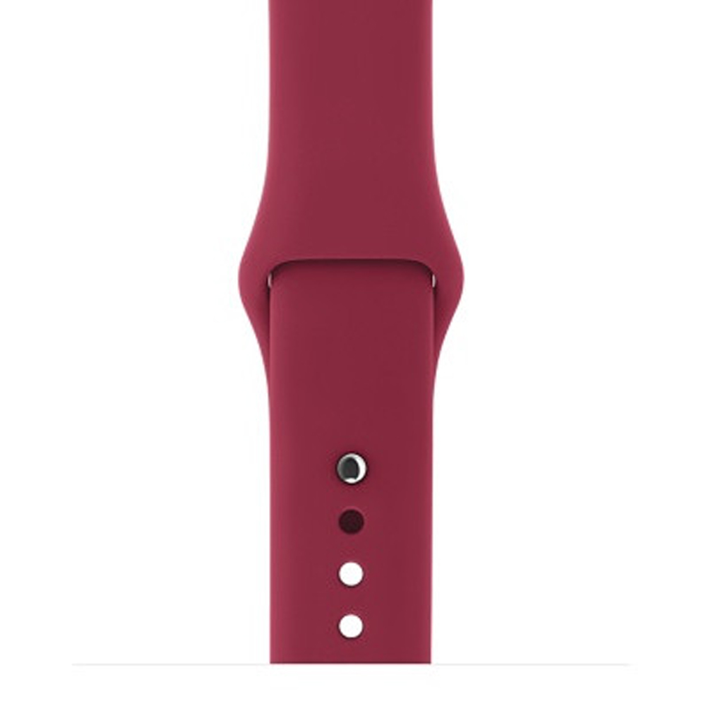 Ремешок Sport Band для Apple Watch 42mm Rose Red (S-M size)