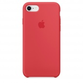 Чехол Apple Silicone Case для iPhone 7/8 Red Raspberry OEM (MRFQ2)