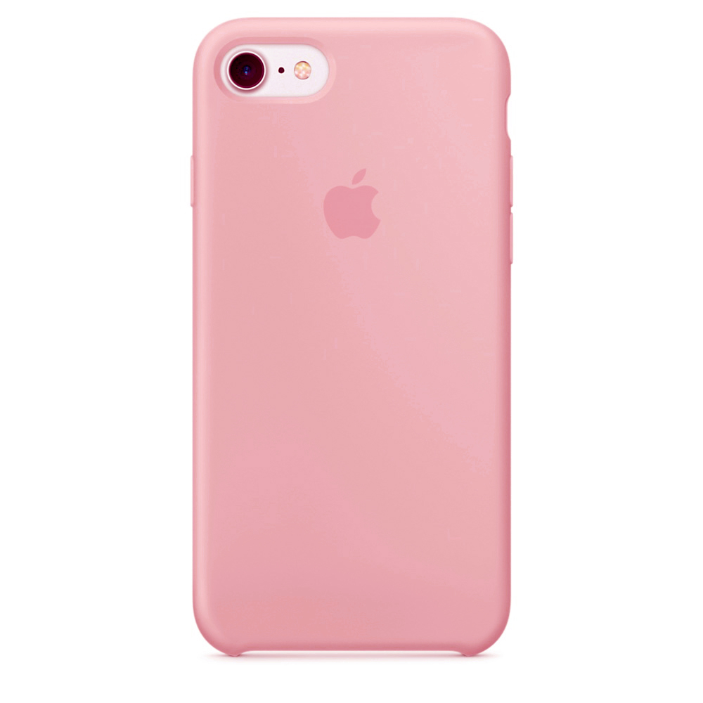 Чехол Apple Silicone case (copy) для iPhone 5/5s/SE Pink