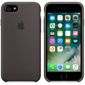 Чехол Apple Silicone Case для iPhone 7/8 Cocoa OEM