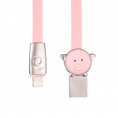 Кабель ROCK Pig Lightning Cable 1m