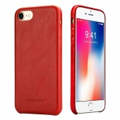 Чехол Jisoncase для iPhone 8/7 Leather Red