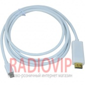 картинка Шнур шт.HDMI- шт.mini Display Port, gold, 1,8м от интернет магазина Radiovip