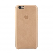 Чехол Leather case для iPhone 6 Plus/6s Plus Gold