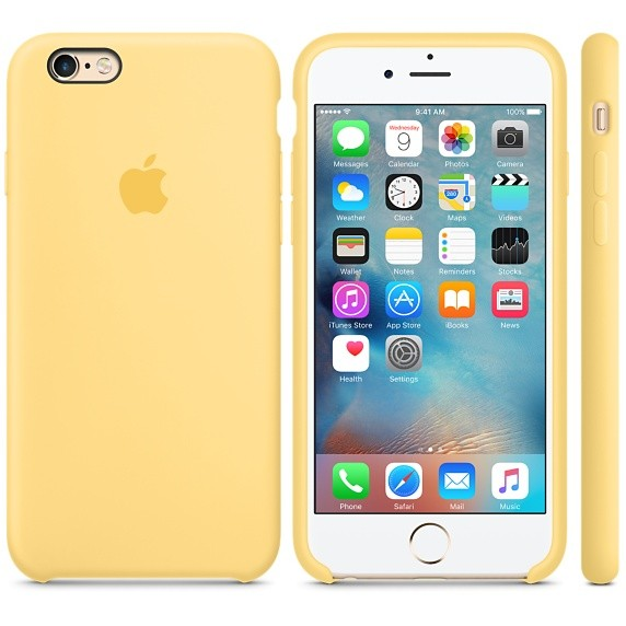 Чехол Apple Silicone Case для iPhone 5/5s/SE Pollen