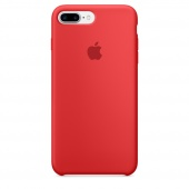 Чехол Apple Silicone Case для iPhone 7 Plus/8 Plus Product (Red) OEM