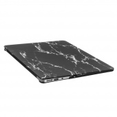 Чехол Upex Marble для Macbook Air 11.6 Black-Grey