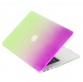 Чехол Upex Rainbow для Macbook Air 11.6 Green-Purple