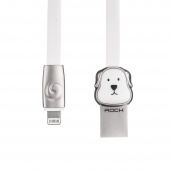 Кабель ROCK Dog Lightning Cable 1m