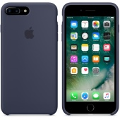 Чехол Apple Silicone Case для iPhone 7 Plus/8 Plus Midnight Blue OEM (MQGY2)
