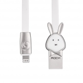 Кабель ROCK Rabbit Lightning Cable 1m