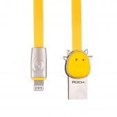 Кабель ROCK Ox Lightning Cable 1m