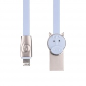 Кабель ROCK Horse Lightning Cable 1m